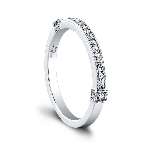 Lovely Jeff Cooper RPB Wedding Ring Jeff Cooper Hope wedding band Featuring channel set diamonds