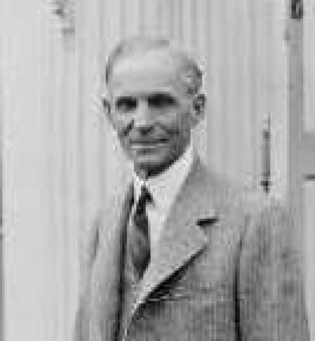A Profile of Henry Ford, Founder of the Ford Motor Company: Henry Ford, 1927.