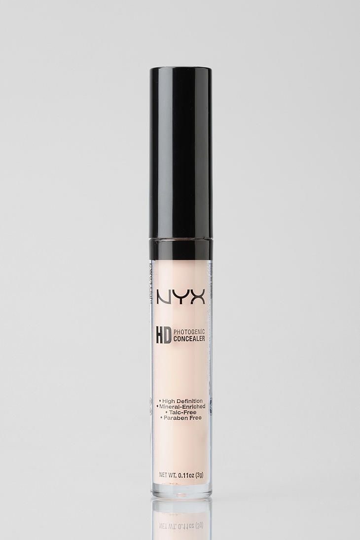 NYX HD Concealer. Suuper good for under eyes!! I think it's as good as MAC pro longwear..   www.prettygirlsmakeupartistry.com