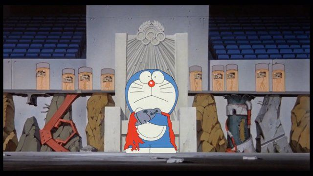 Doraemon at the 2020 Neo-Tokyo Olympic Games  a= Tokyo's bid committee for the 2020 Summer Olympic Games appointed Fujiko F. Fujio 's famous robot cat Doraemon as a special ambassador. b= Katsuhiro Otomo's manga Akira predicted the 2020 Tokyo Olympic Games way back in 1982. a+b= I had to make this video. My humble tribute to Katsuhiro Otomo, Tatsuyuki Tanaka, Koji Morimoto and all the great artists involved in Akira.