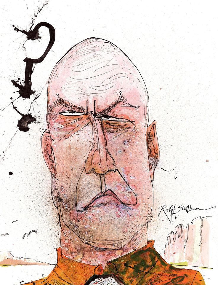 Breaking Bad Blu-ray covers, as illustrated by Ralph Steadman – in pictures