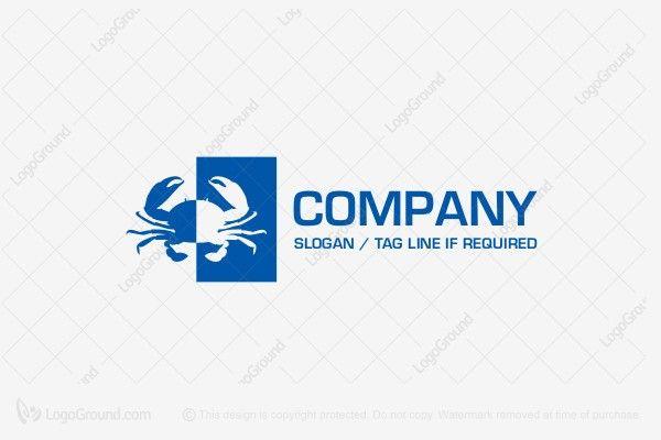 Logo for sale: Crab Logo