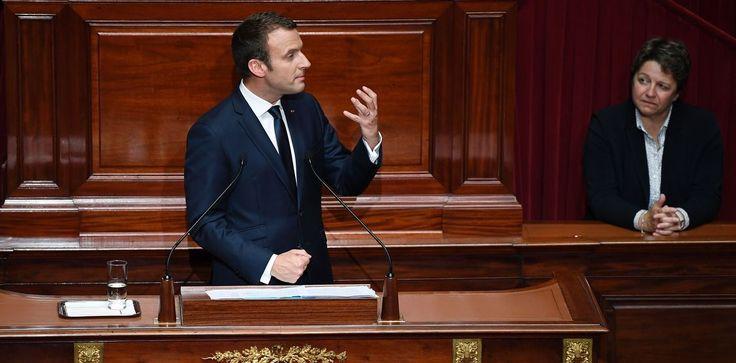 Presidente Emmanuel Macron propone una nueva 'revolución' en Francia
