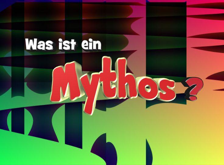 Mythos hört sich sehr griechisch an und das ist es auch. Es bedeutet Erzählung oder sagenhafte Geschichte. Mythen verbindet man gleich mit etwas Geheimnisvollen. Mehr Text s. Webseite unten >>