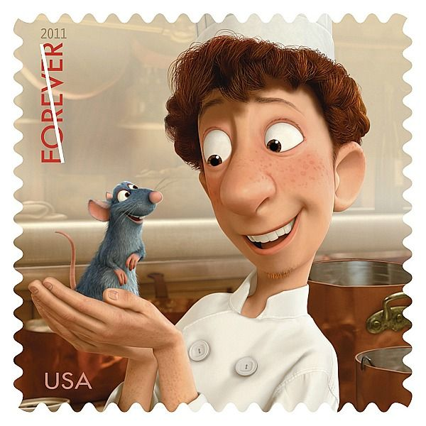 New Stamps - Ratatouille