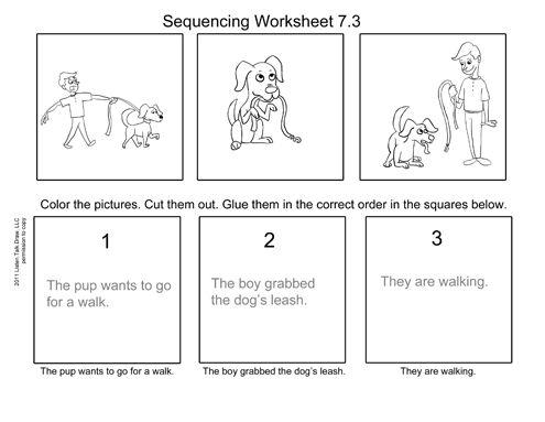 Dog Walk Worksheet