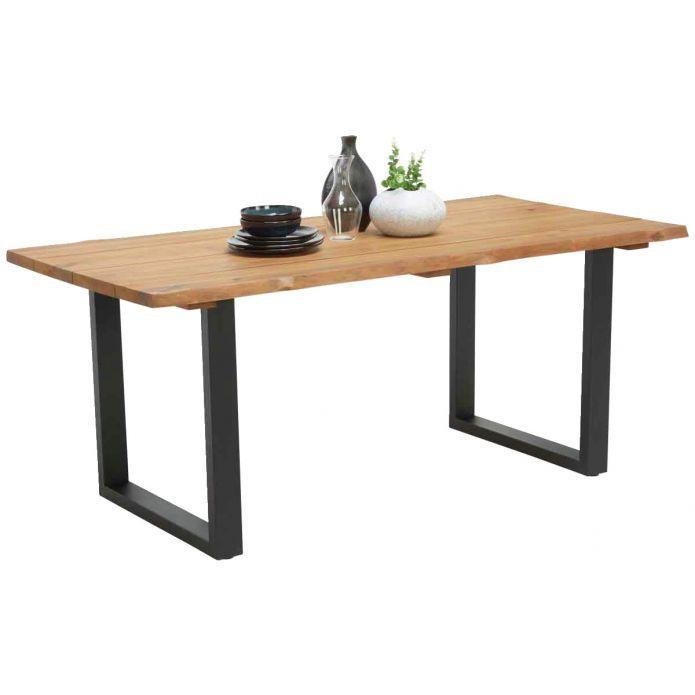 Ambia Gartentisch Honolulu Gartentisch Holztisch Mit Metallgestell Holztisch Terrasse