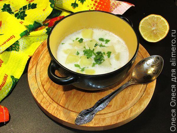 Финский рыбный суп с молоком / Рецепты с фото