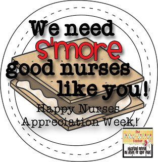 Teachers/Nurses Appreciation Week Gifts