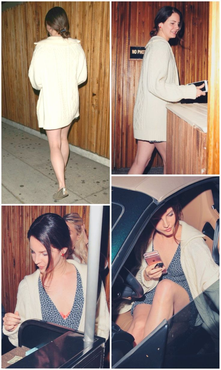 June 18, 2017: Lana Del Rey at The Nice Guy restaurant in Los Angeles #LDR