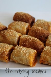 Thermomix mini sausage rolls