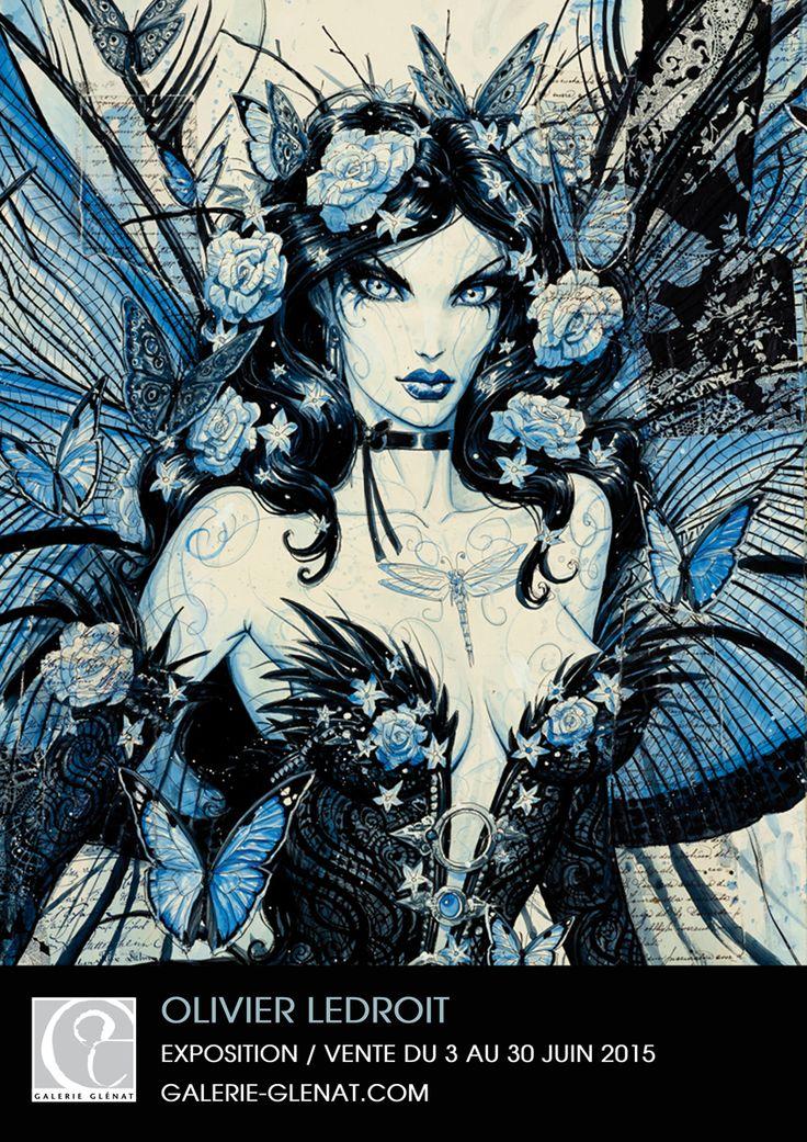 Olivier Ledroit et ses fées à la Galerie Glénat à Paris à partir du 3 juin - http://www.ligneclaire.info/ledroit-paris-26575.html