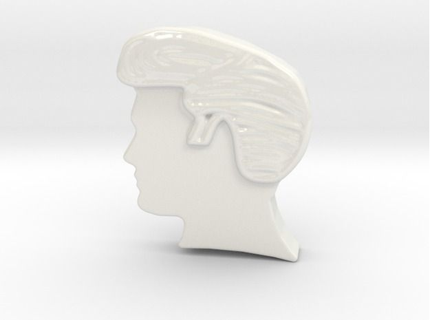 Elvis Hairstyle Wall Hanging by ARZNAK