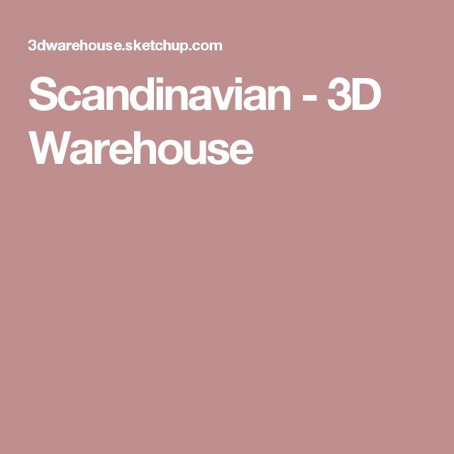 Scandinavian - 3D Warehouse