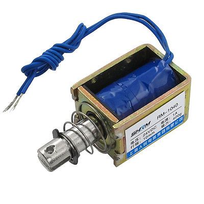 $13.66 (Buy here: https://alitems.com/g/1e8d114494ebda23ff8b16525dc3e8/?i=5&ulp=https%3A%2F%2Fwww.aliexpress.com%2Fitem%2FDC-24V-1A-0-4kg-Lifting-Force-Push-Type-Solenoid-Electromagnet%2F32347099106.html ) DC 24V 1A 0.4kg Lifting Force Push Type Solenoid Electromagnet for just $13.66