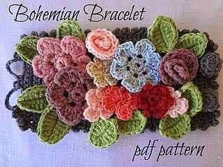 Bohemian Bracelet PDF Pattern | Little Treasures | Bloglovin'
