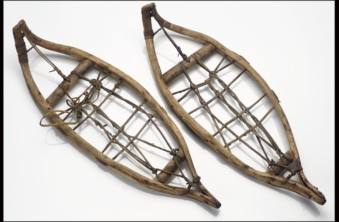 Check out my vintage snowshoes