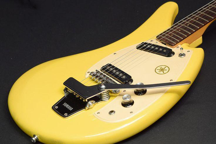Used Old Vintage Bizarre Guitar YAMAHA 1968 SG2-C / Yellow Flying Banana  | eBay