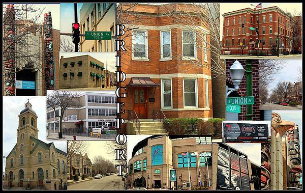 Bridgeport, south side Chicago