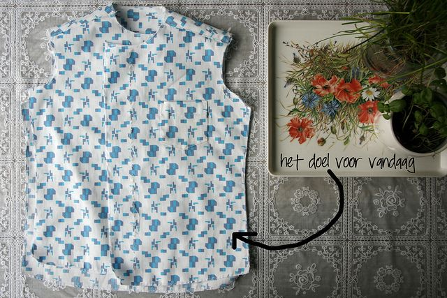 Shirt sew along by Mamasha. Wat als elke handleiding zo fijn zou zijn?