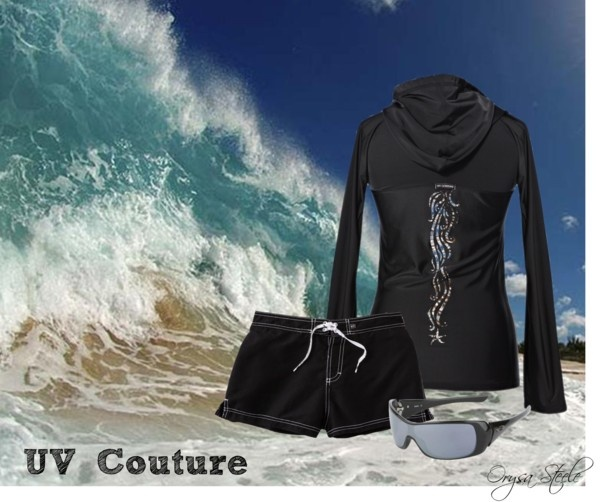 """""""Surfer Girl"""" by uvcouture on Polyvore"""