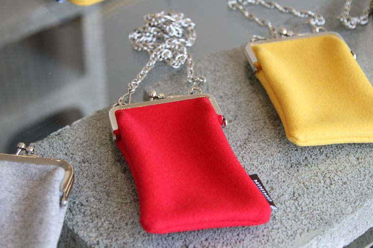 Colourful pouches by Minimo. Picture: Leena Kultanen