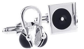 Premium Music Design Retro Walkman Cufflinks