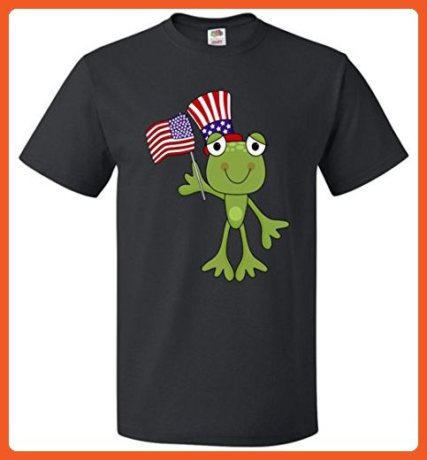 America Independence Day Frog Unisex T-Shirt - Animal shirts (*Partner-Link)