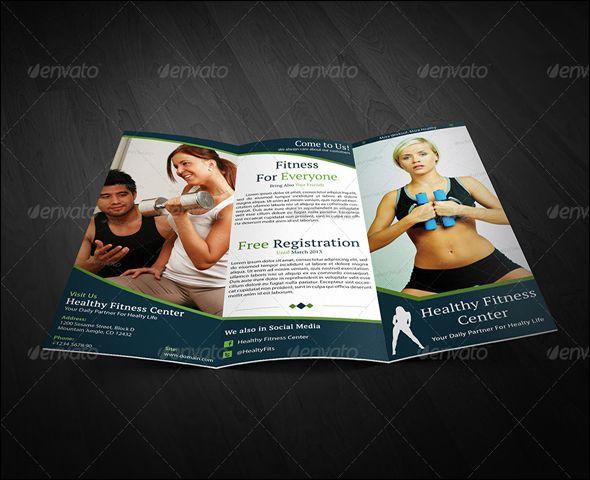 The 25+ best Free brochure maker ideas on Pinterest Brochure - fitness templates free
