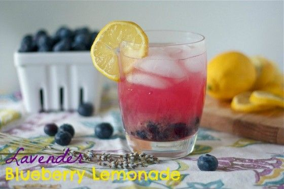 Lavender Blueberry Lemonade     From Country Cleaver » Cocktail Day 6 – lots of fun recipes here!