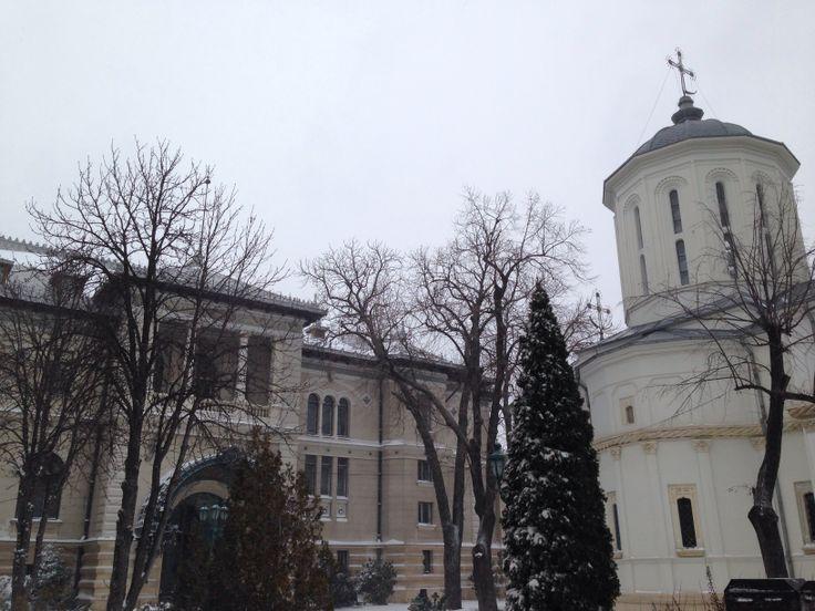 #CotroceniPalace #Bucharest #Winter