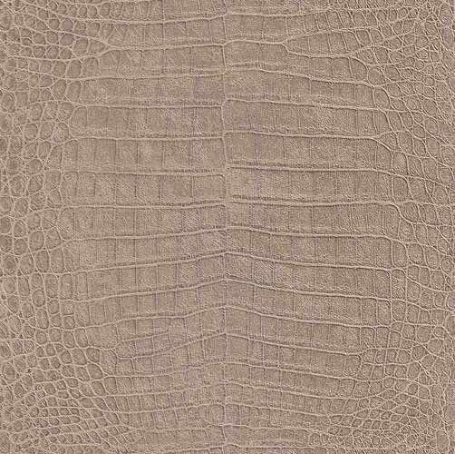 Fräck tapet med mönster av krokodilhud från kollektionen Fashion 474138. Klicka för att se fler inspirerande tapeter för ditt hem!