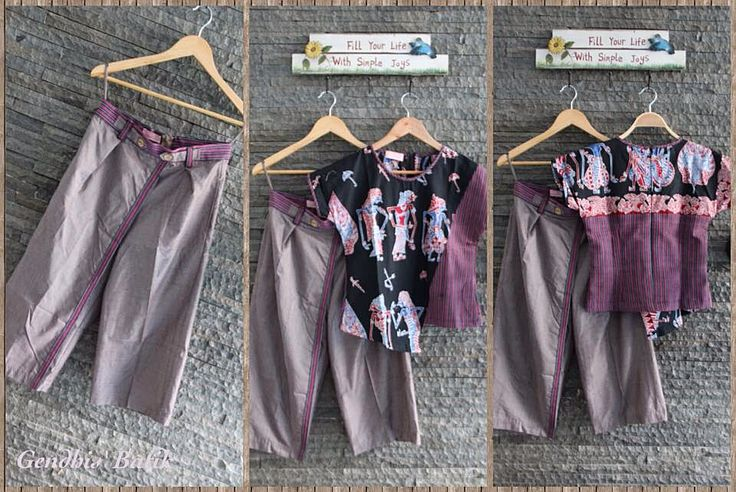 Cullote & Blouse Set, by Gendhi's Batik