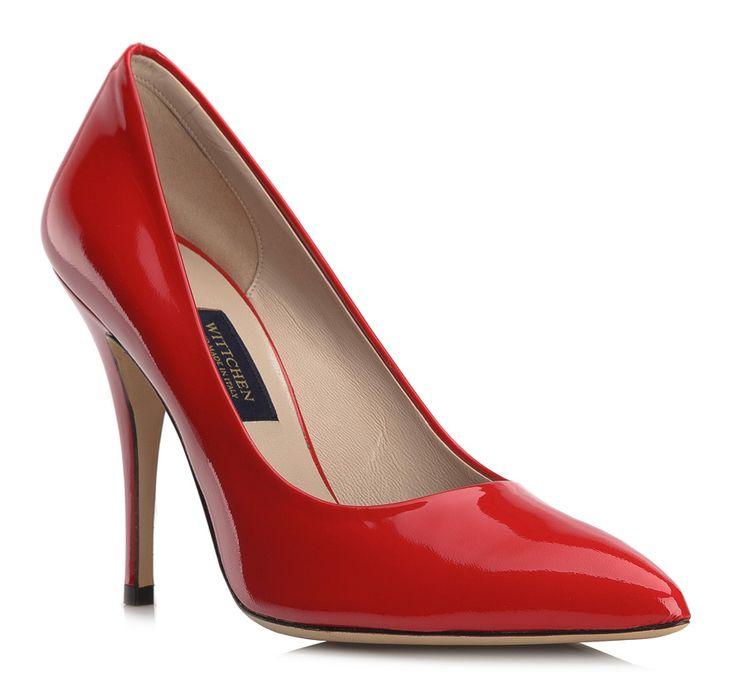 Buty damskie - Obuwie skórzane :: Sklep internetowy WITTCHEN - lakierowane czerwone