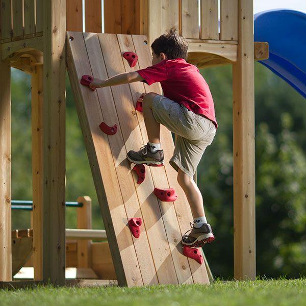 Angled Climbing Wall