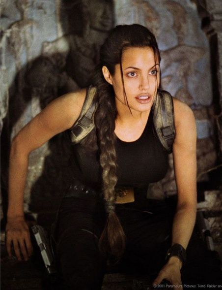 Angelina Jolie as Lara Croft (Tomb Raider)                                                                                                                                                                                 More