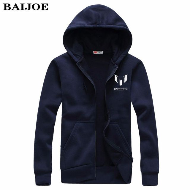 Fair price BAIJOE Barcelona MESSI print Cardigan Men Hoodies Brand Clothing Fashion Hoodies Man Casual Slim Hoody Sweatshirt Zipper Hoodie just only $14.25 with free shipping worldwide  #hoodiessweatshirtsformen Plese click on picture to see our special price for you