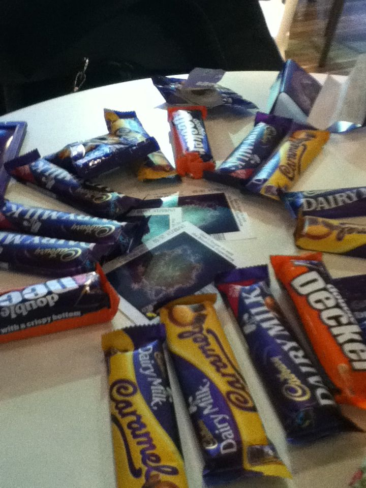 Cadburys world chocolate