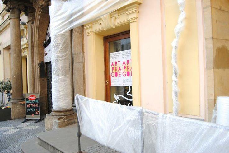 Art Prague 2014 - Kafkův dům designed by Informuji.cz