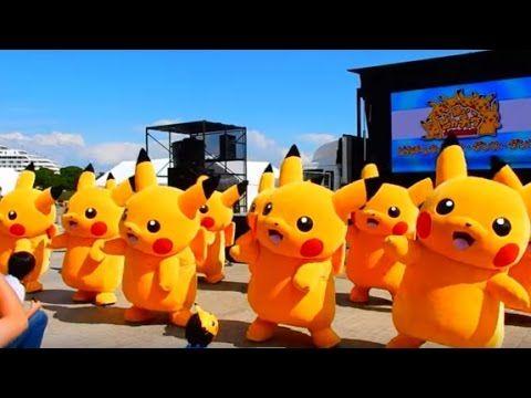 BINH ĐOÀN POKEMON PIKACHU GO NHẢY MÚA SIÊU DỄ THƯƠNG - (Festival Pikachu...