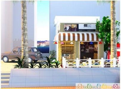 Thiết kế nội thất cafe take away anh Ngọc