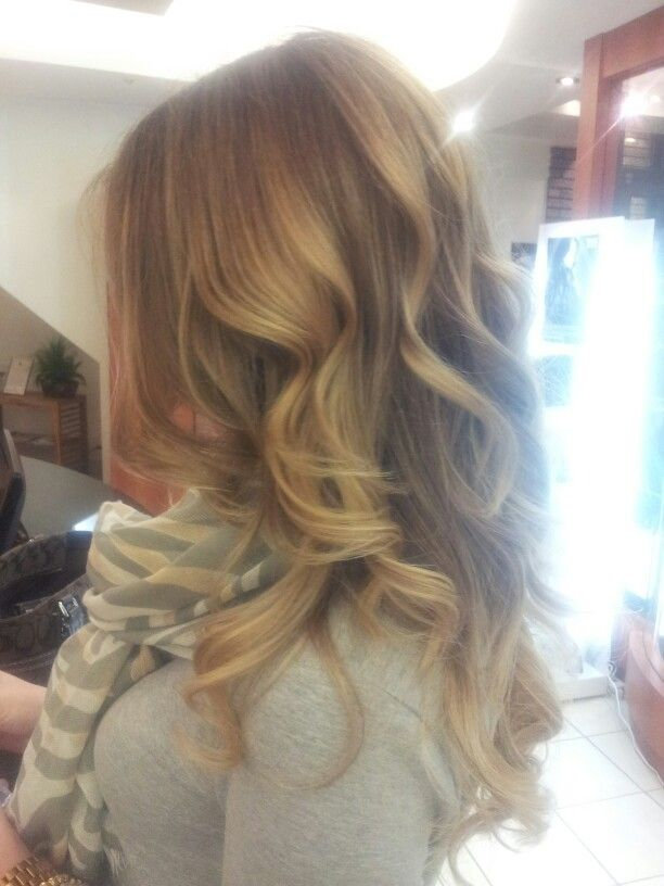 Light Brown Ombre Hair With Layers Hair Pinterest