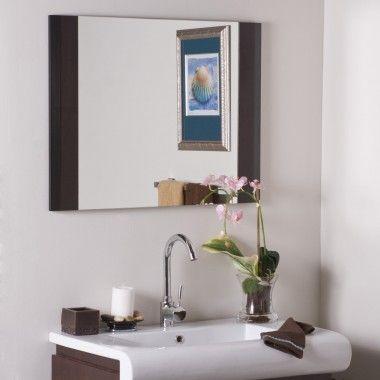 Decor Wonderland Frameless Chase Wall Mirror - SSM83