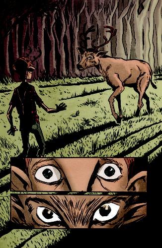 Jeff Lemire's Sweet Tooth comics