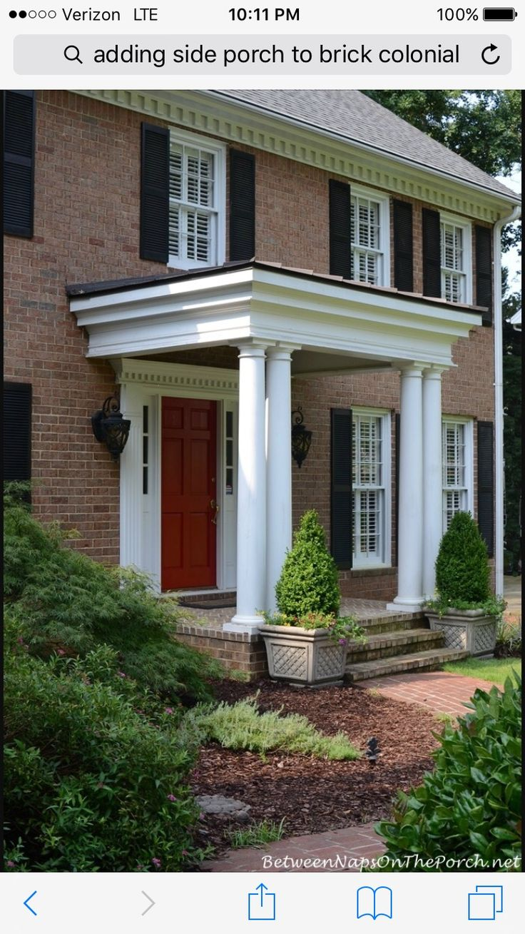 29 best front portico images on Pinterest | Front doors, Front porches and  Doors