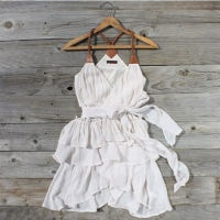 I really love this! A must-have!Summer Dresses, Cowboy Boots, Summer Outfit, Style, Closets, Clothing, Ruffles Dresses, White Dresses, Scattered Ruffles