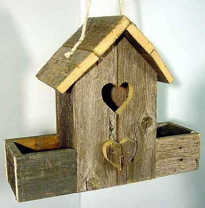 Birdhouse Wood Patterns - Rustic Barn Birdhouse Wood Plan