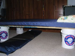 Raise Them Up: Frugal Home-Made Camp Cot