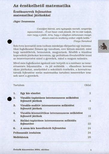 C8-6 - Az érzékelhető matematika - Angela Lakatos - Picasa Webalbumok