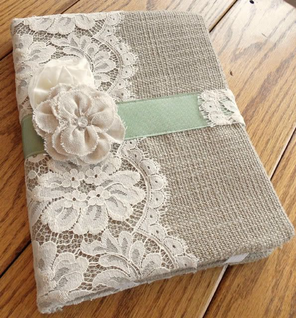 A Petite Cottage: A cover for my iPad (could totally make this a book cover! It has a magnet flap close!)